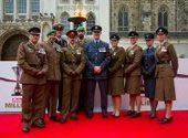 Photo: The Sun/MoD: Image shows personnel from the Defence Cultural Specialist Unit (DCSU) who were nominated for the Best Unit Award.