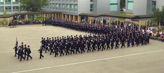 Passing Out Parade Picture Source: Met